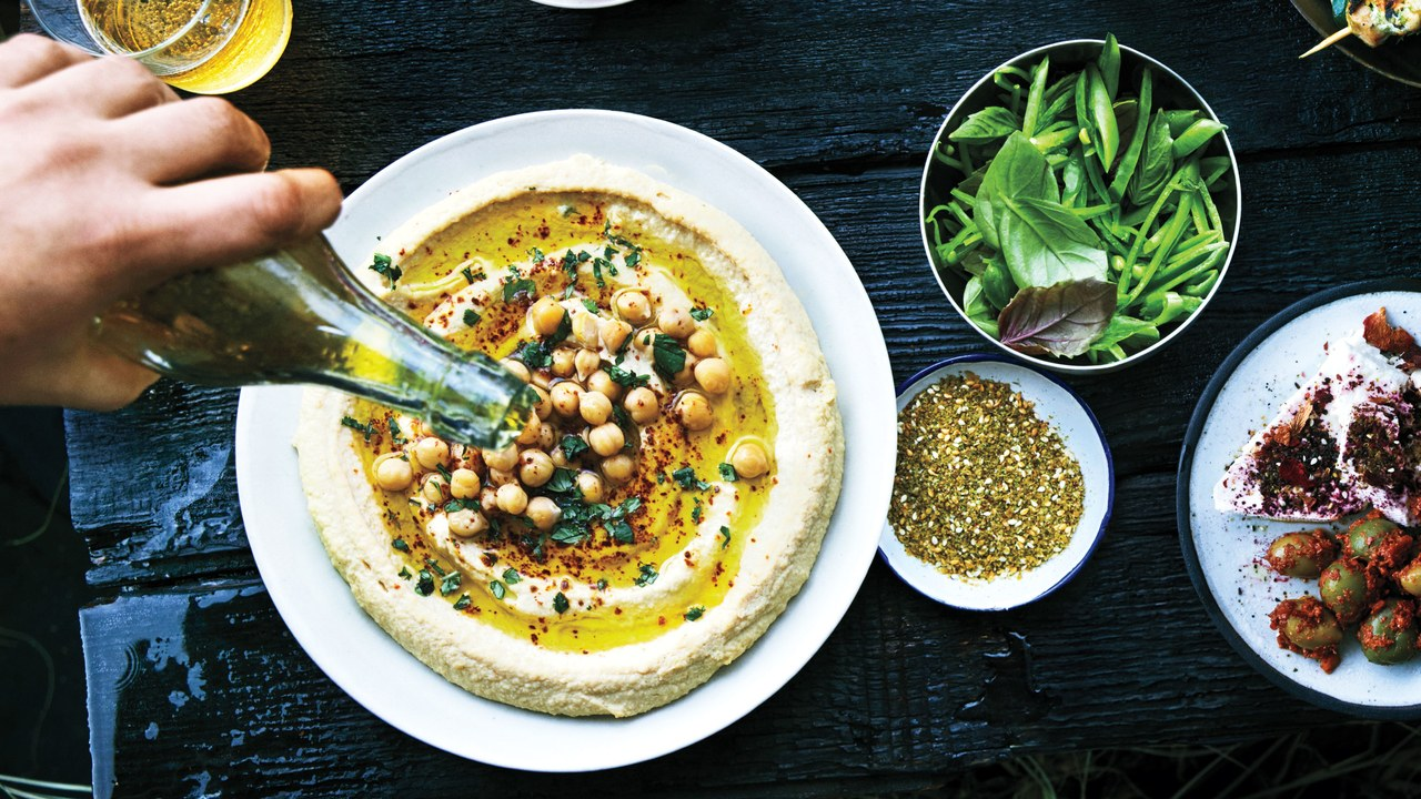 Creamy Hummus with Cumin