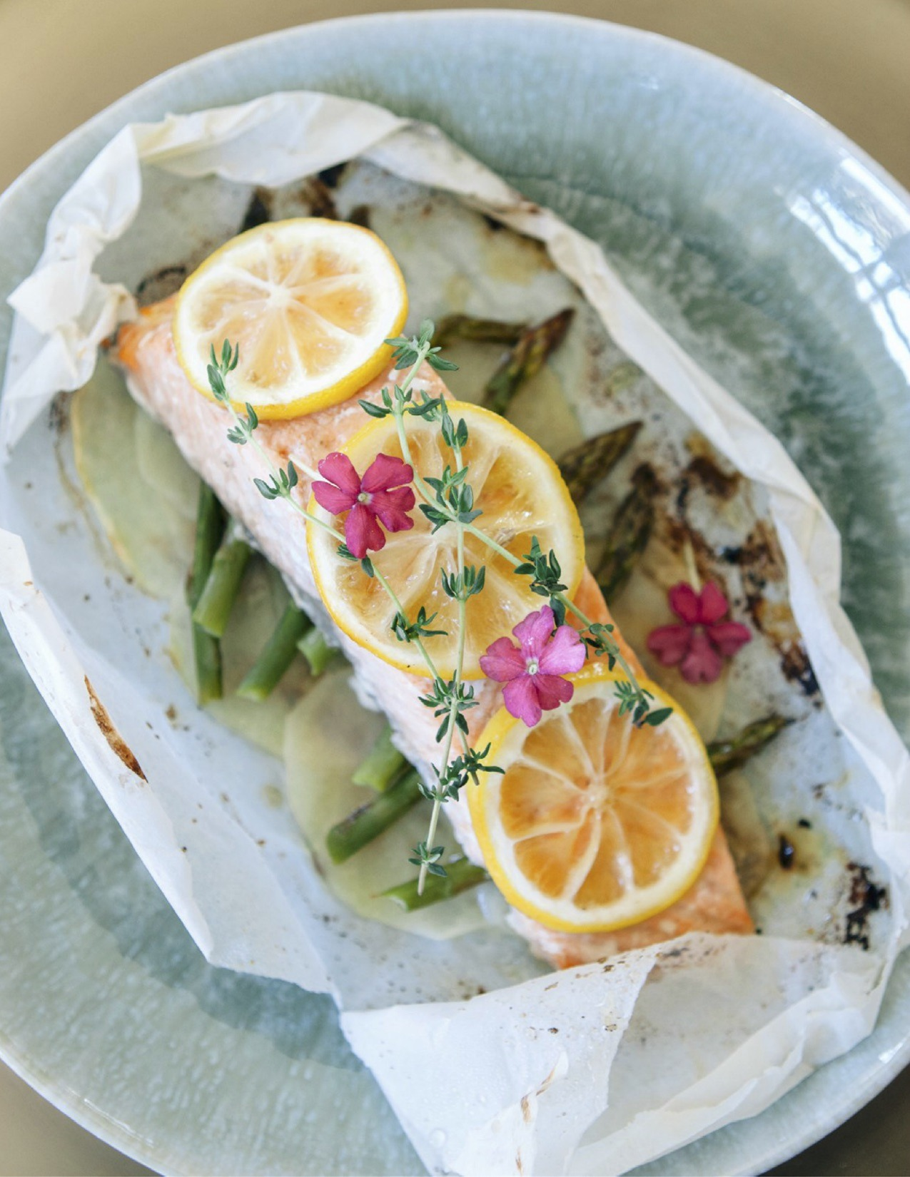 Perfect Parchment-Baked Salmon