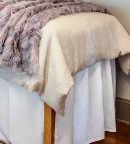 Your Perfect Dorm bed skirt