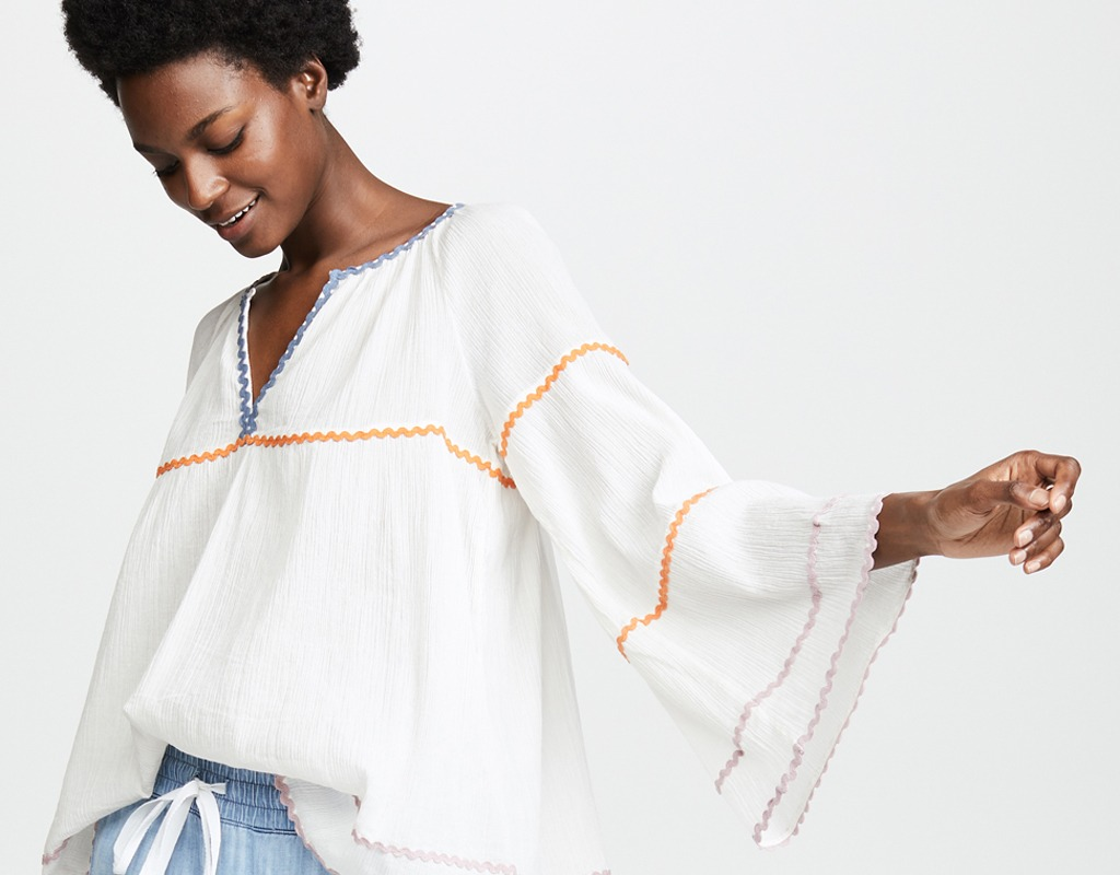 Breezy White Tops for Summer and Fall