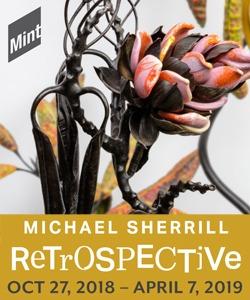 Mint Museum Michael Sherrill Retrospective Ad