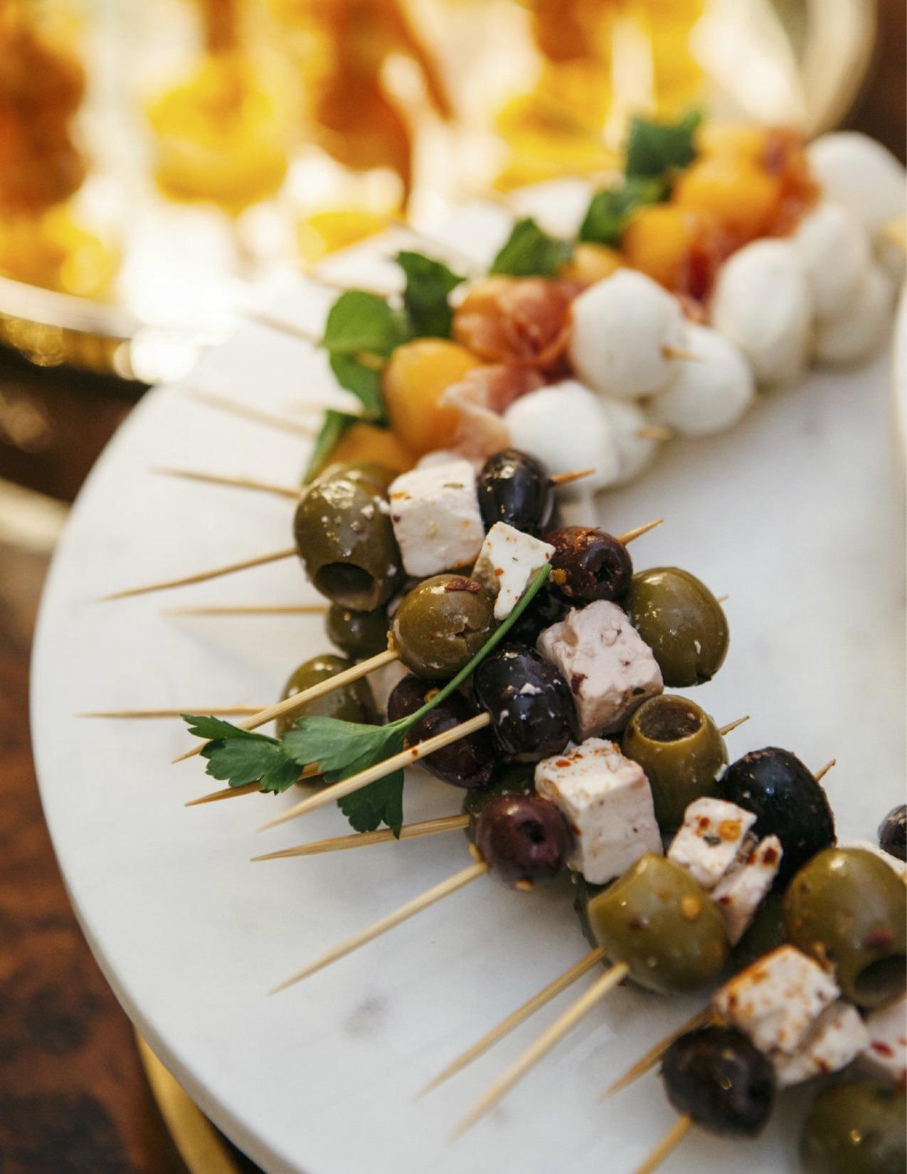 olive skewers
