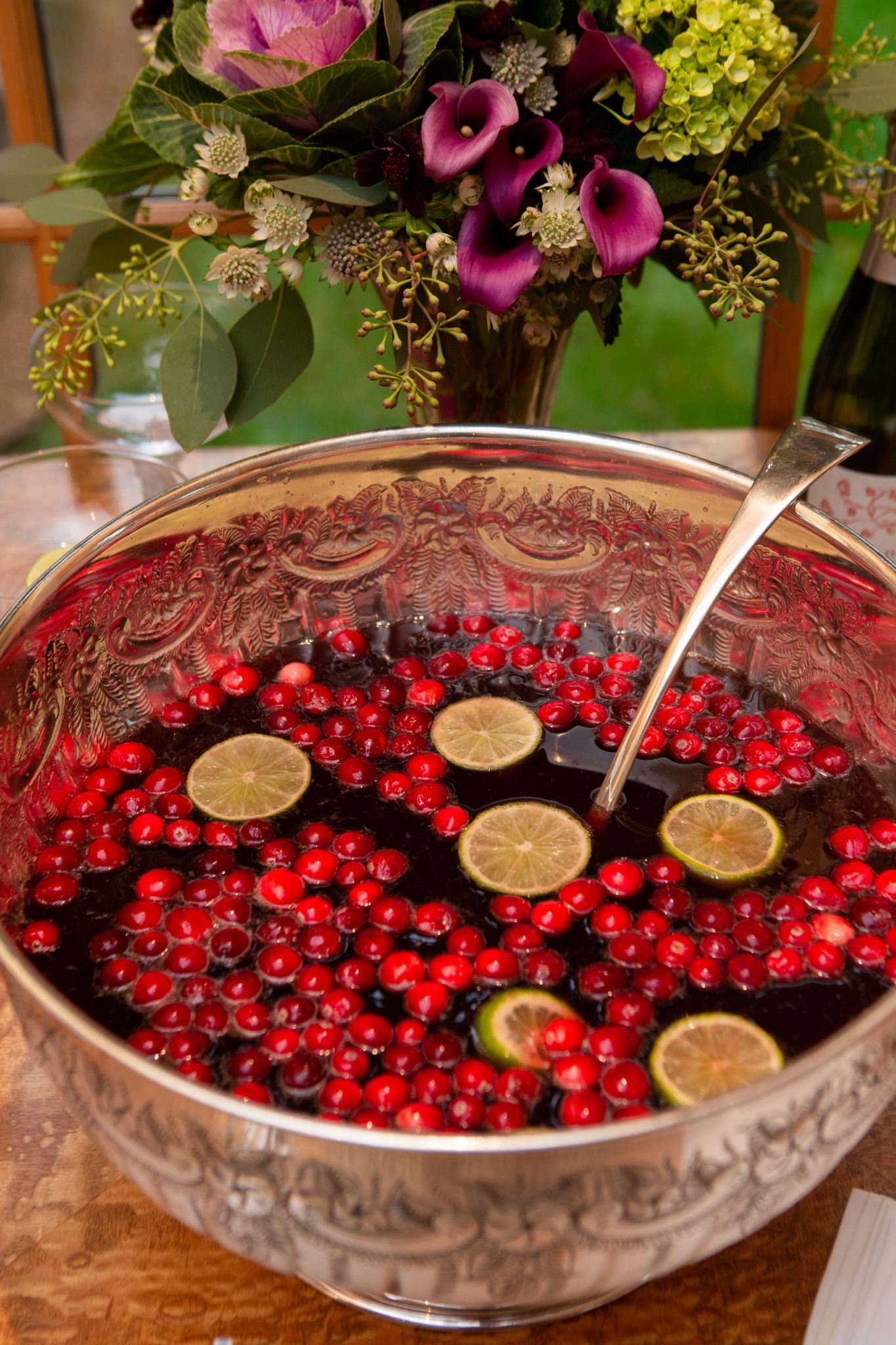 holiday entertaining christmas punch
