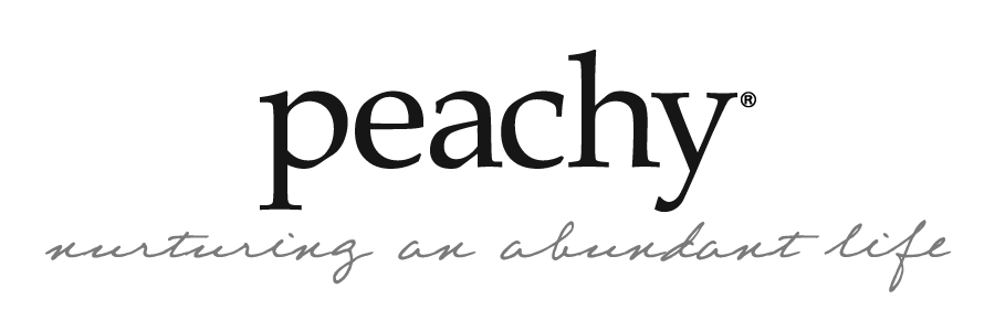 Peachy the Magazine logo header