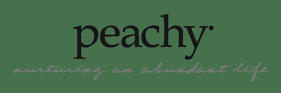 Peachy the Magazine logo header