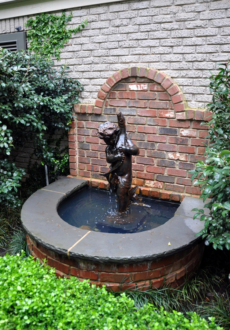 Cherub Garden Fountain Dabney Peeples