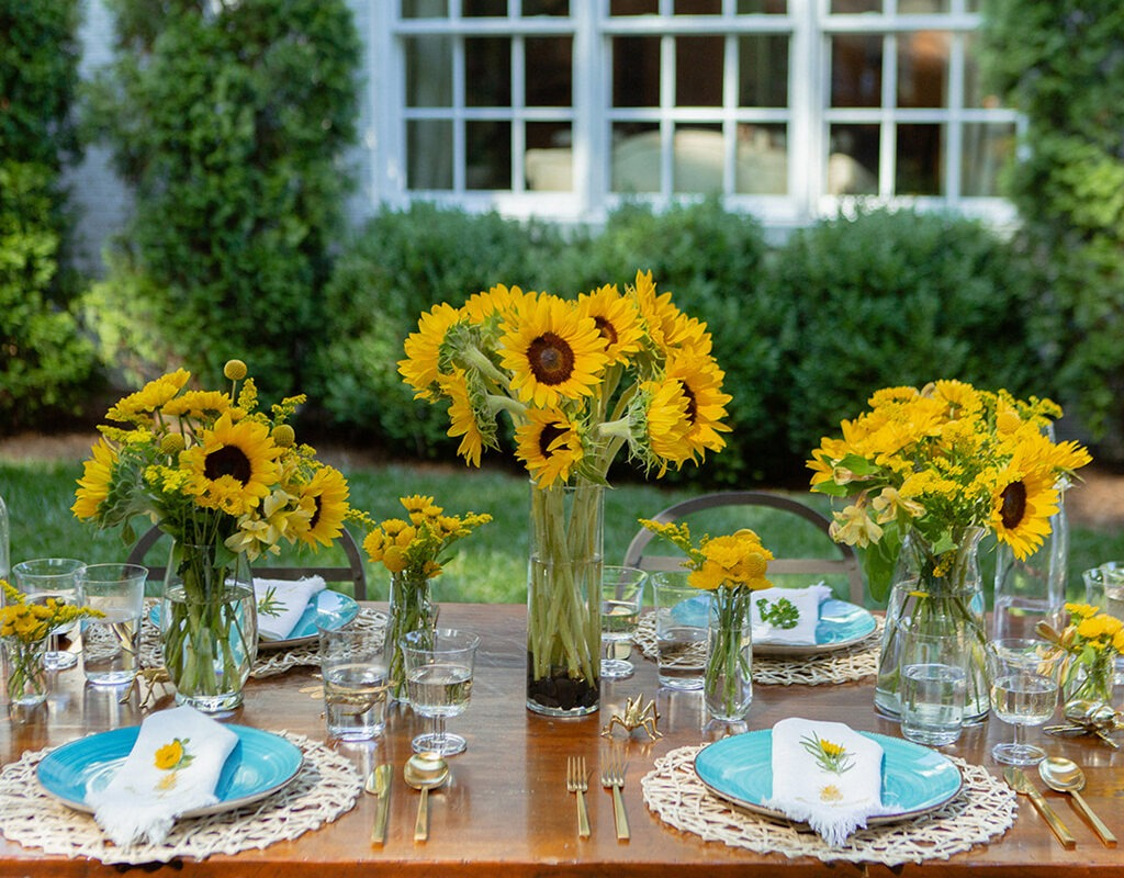 summer entertaining al fresco dining