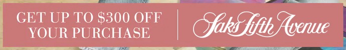 Saks Fifth Avenue August 2020 Sale