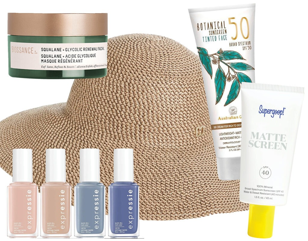 summer beauty staycation self care
