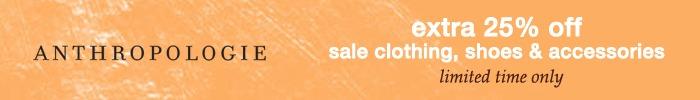 Anthropologie Summer Sale 2020