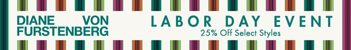 DVF labor day sales event 2020
