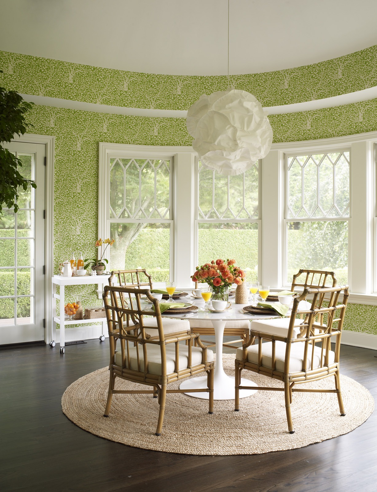 Meg Braff Designs Southampton home breakfast room