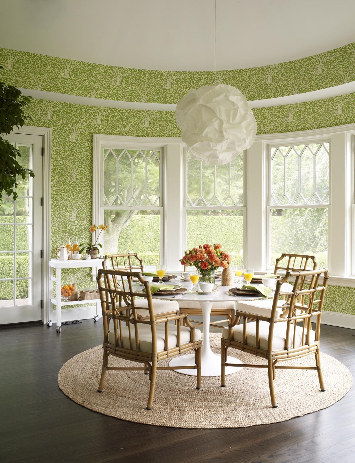 Meg Braff Designs Southampton home breakfast room