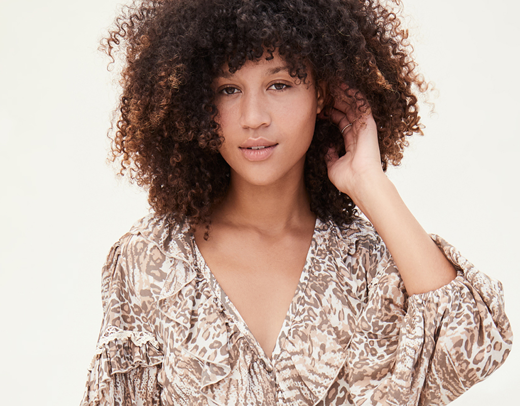 spell gypsy collective ada gown animal print dress