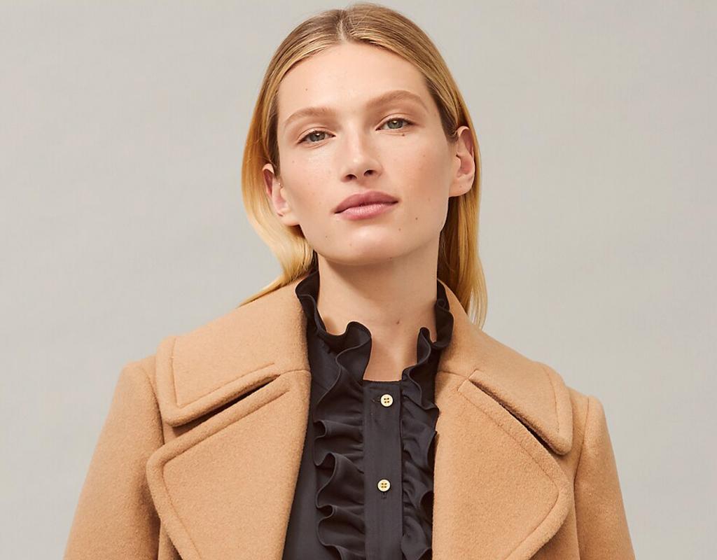 tory burch wool cashmere coat
