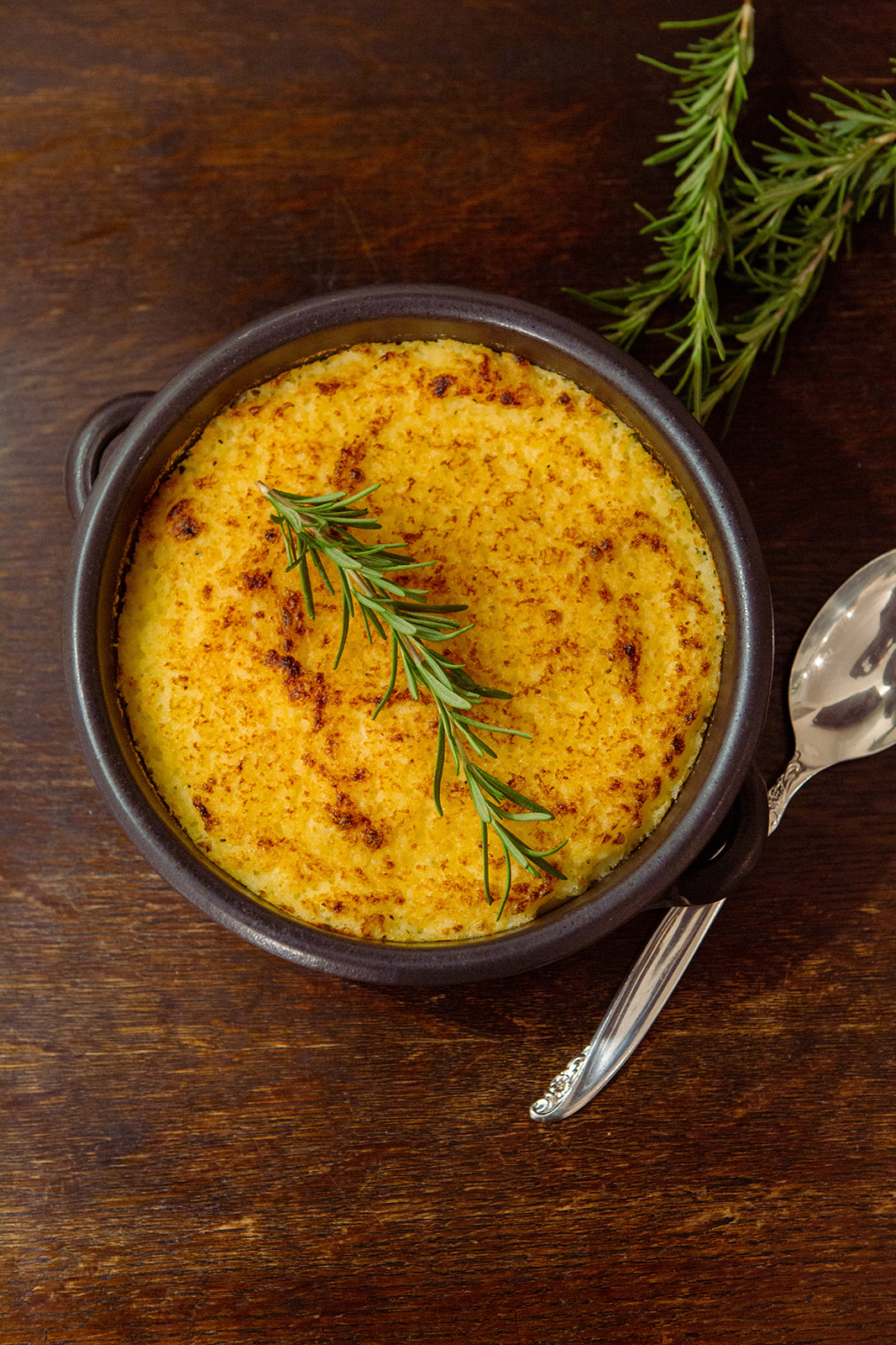 herb scented mashed potatoes