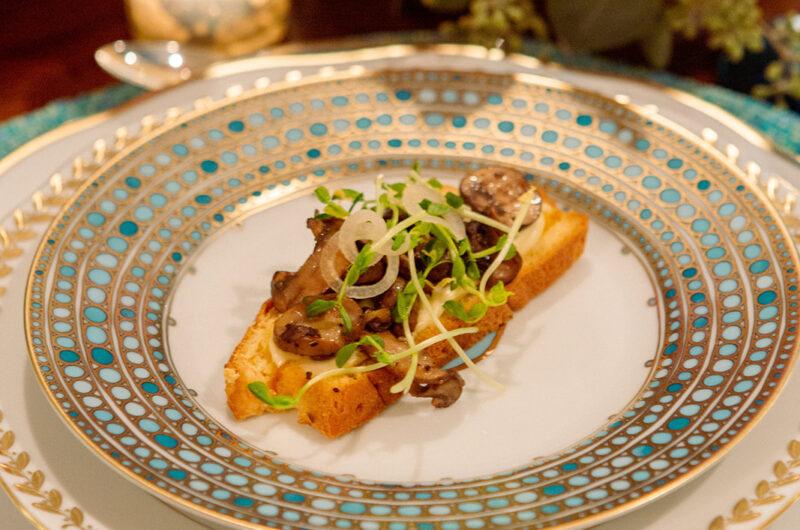 Mushroom Toasts with Délice de Bourgogne