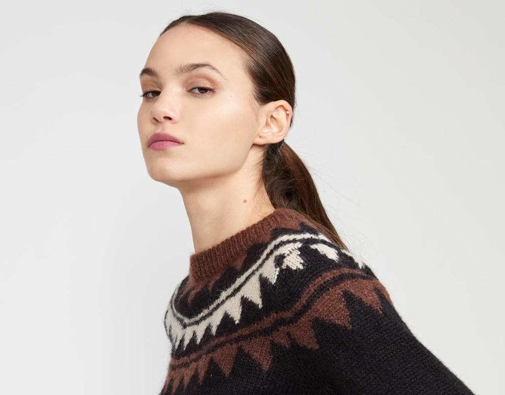 cynthia rowley aspen knit sweater