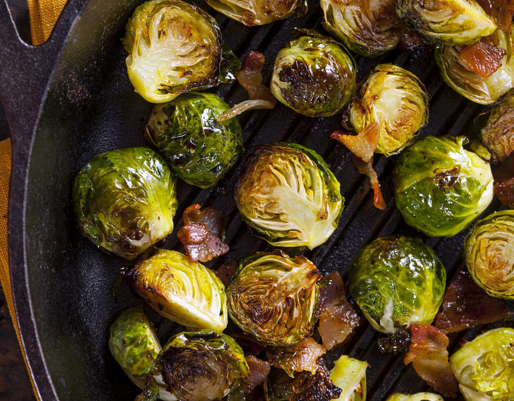 Smokey Brussel Sprouts