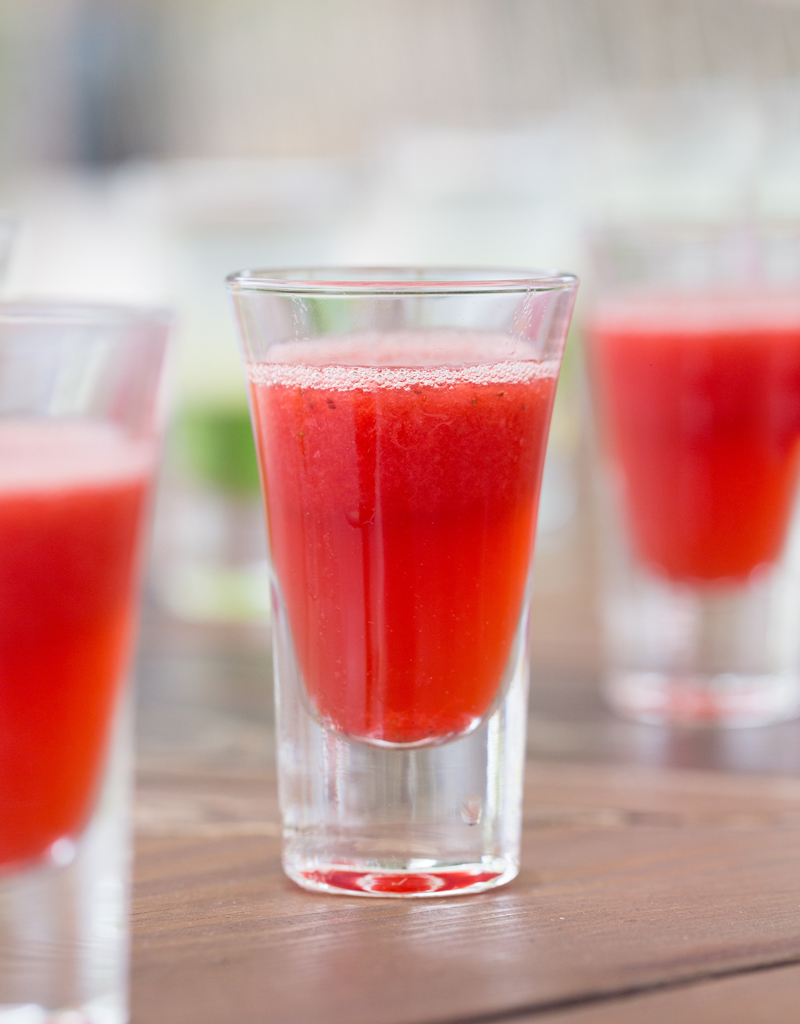 strawberry shooters