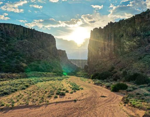 Diablo Canyon Recreation Area, Santa Fe, New Mexico
