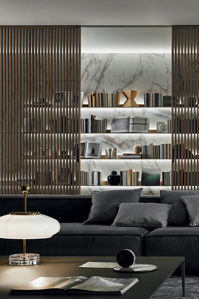 contemporary gray interior
