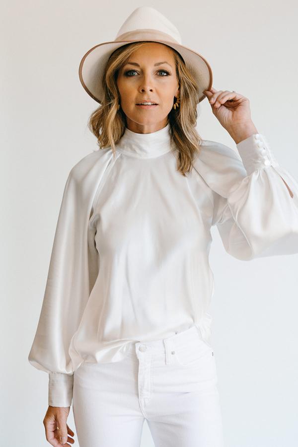 daniel gonzalez designs dahlia blouse