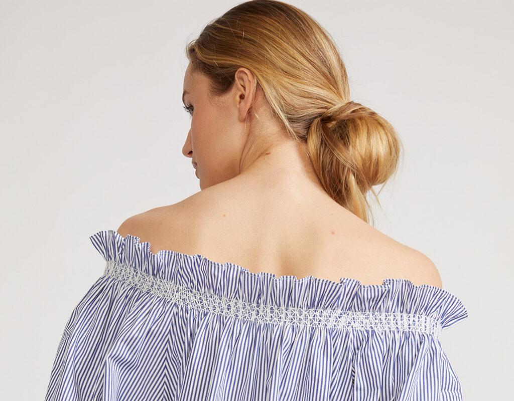 cynthia rowley summer off shoulder top
