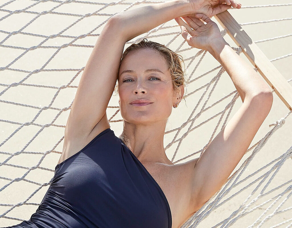 jcrew ruched one shoulder swimsuit