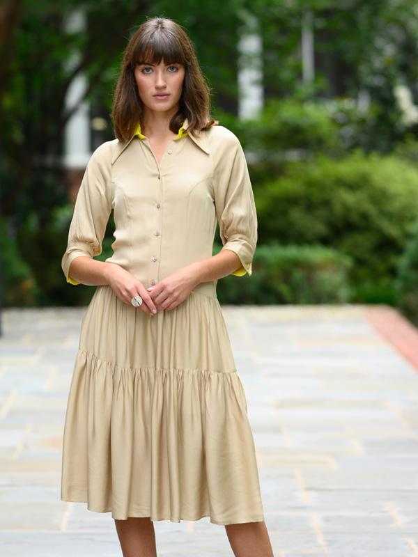 daniel gonzalez girasol dress