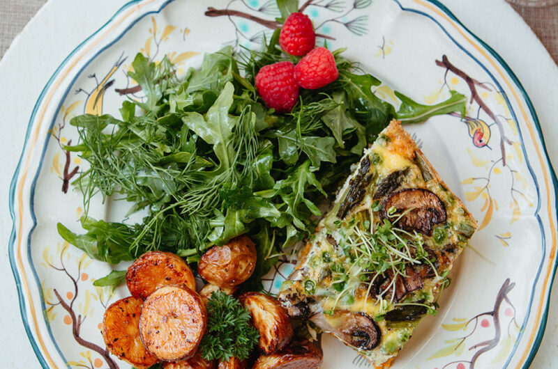 Arugula and Herb Salad