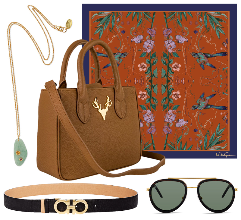 peachy fall capsule collection accessories